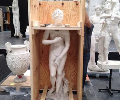 Transporte obras de arte